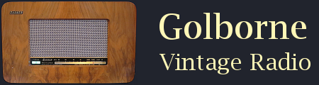 Golborne Vintage Radio